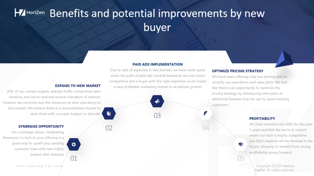 Startup Pitch Deck - Investment Benefits And Potential Improvements