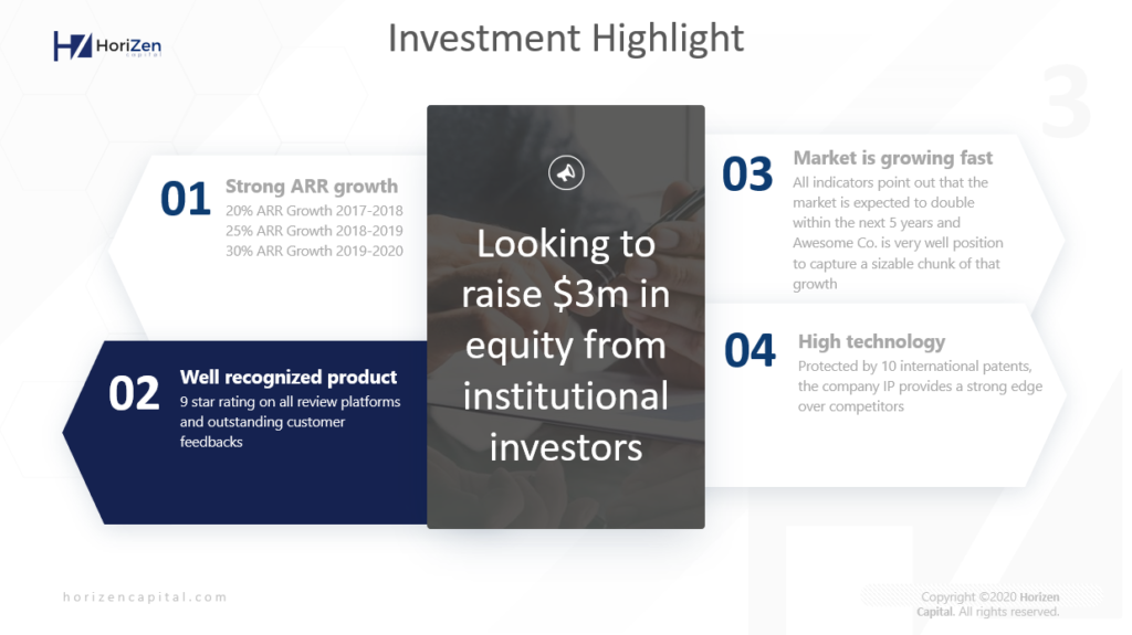 Startup Pitch Deck - Key Acquisition Highlights