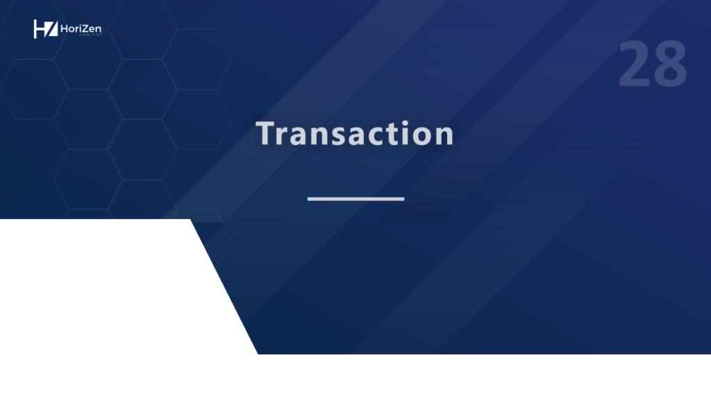 Startup Pitch Deck - Transaction