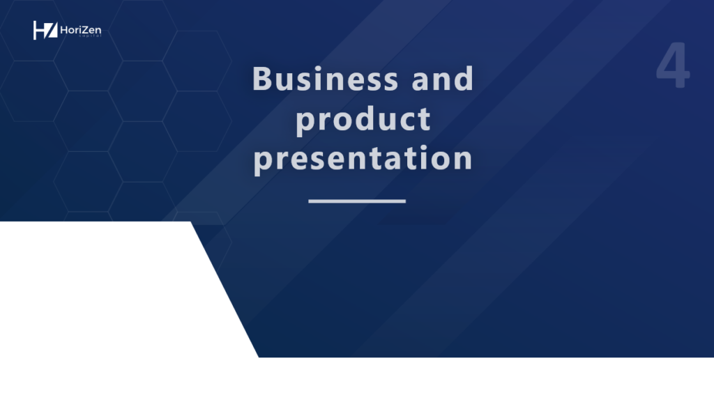 Startup Pitch Deck - Business and Product presentation