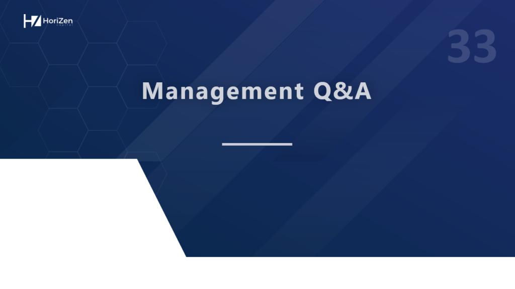 Startup Pitch Deck - Management Q&A