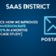 Improve conversion rate Postalytics